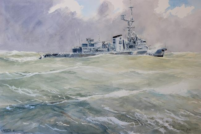 Guy LHOSTIS - 13 La Motte Piquet en mer