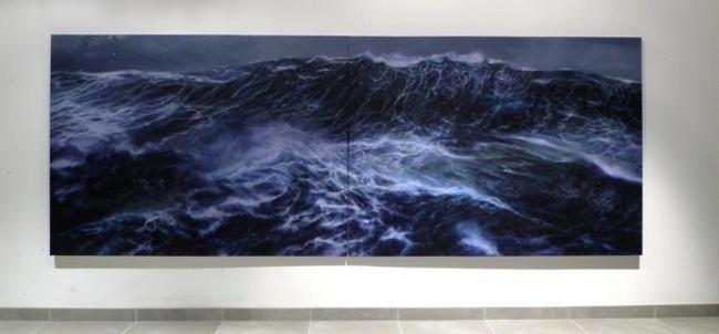 Franco SALAS-BORQUEZ - 2014 Le Mur 324x130