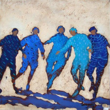 Olivier SUIRE-VERLEY - 14 Danse 50x50