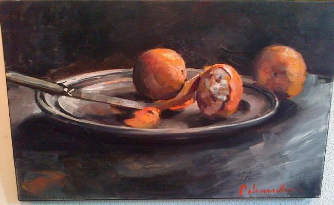 Christoff DEBUSSCHERE - Le couteau et les oranges