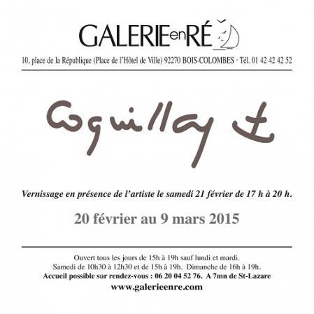 Jacques  COQUILLAY - Carton virtuel 2014  verso