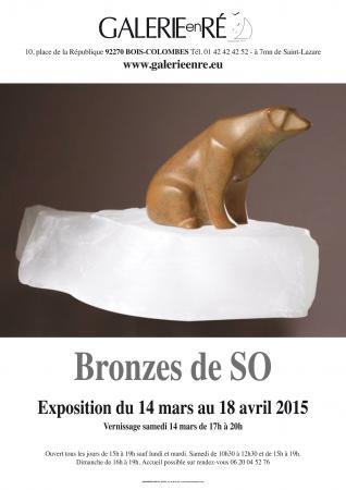 Sophie Dabet SO - affiche de l'exposition