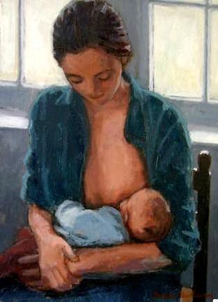 james MacKeown - maternité bleue
