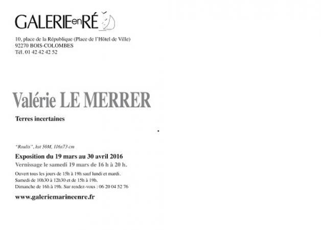 Valérie LE MERRER - Carton virtuel 2016