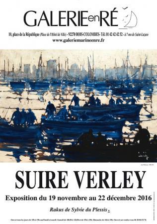 Olivier SUIRE-VERLEY - 2016 Les pêcheurs affiche