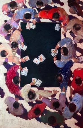 Olivier SUIRE-VERLEY - 16 Les joueurs de cartes