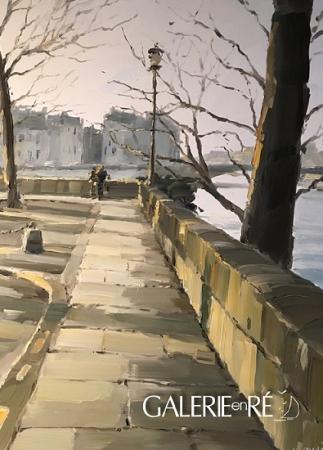 Stephane RUAIS - 2017 La pointe de L'Ile Saint Louis 10F