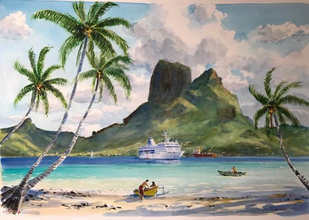 Guy LHOSTIS - 2017 Tahiti 2