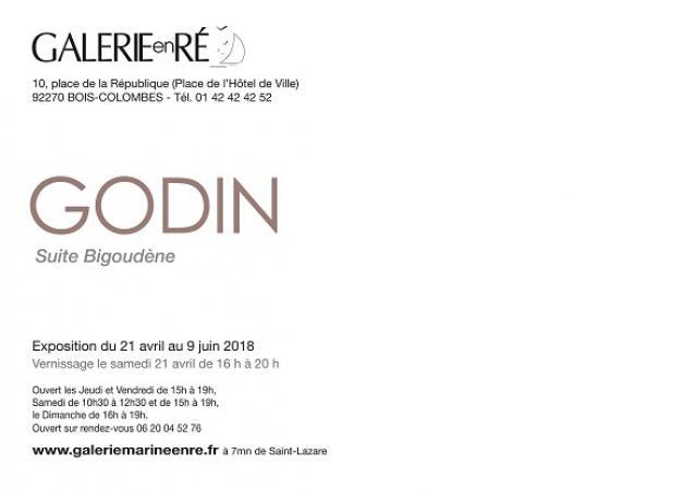 Jacques GODIN - 18 Carton virtuel de l'invitation