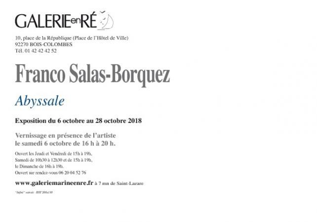 Franco SALAS-BORQUEZ - 18 Carton vernissage