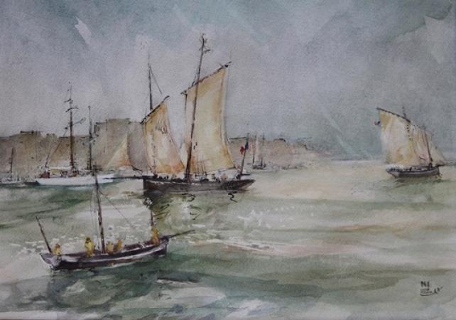 Michel BERNARD - Sortie de Brest