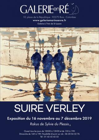Olivier SUIRE-VERLEY - 19 affiche bleue