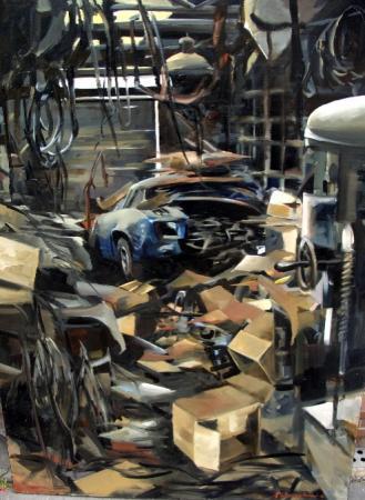 Christoff DEBUSSCHERE - Alpine au garage
