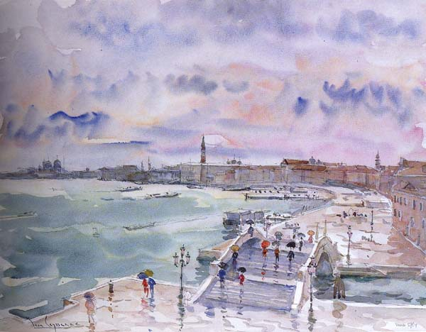 Jean LEYSSENNE - Le Bassin de Saint Marc