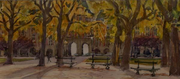 Jean LEYSSENNE - Place des Vosges