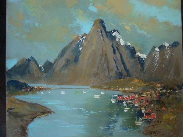 Jacques COQUILLAY - Affiche Lofoten oct 06