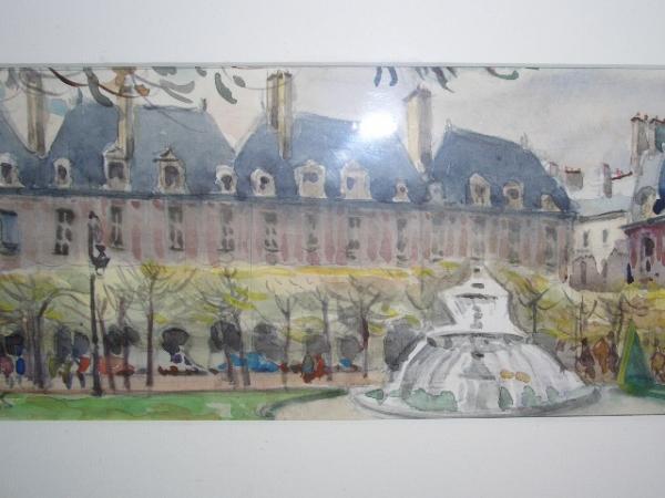 Jean  LEYSSENNE - Place des Vossges.