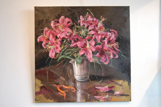 Christoff DEBUSSCHERE - Les lys roses