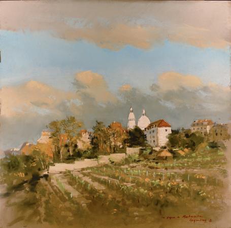 Jacques  COQUILLAY - Les vignes de Montmartre