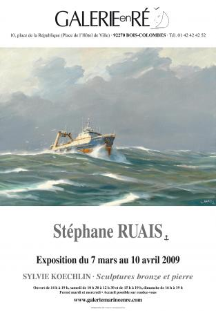 Stephane RUAIS - affiche exposition 2009