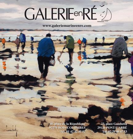 Olivier SUIRE-VERLEY - la maree basse affiche
