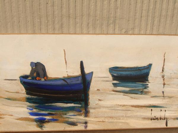 Olivier SUIRE-VERLEY - Les deux barques