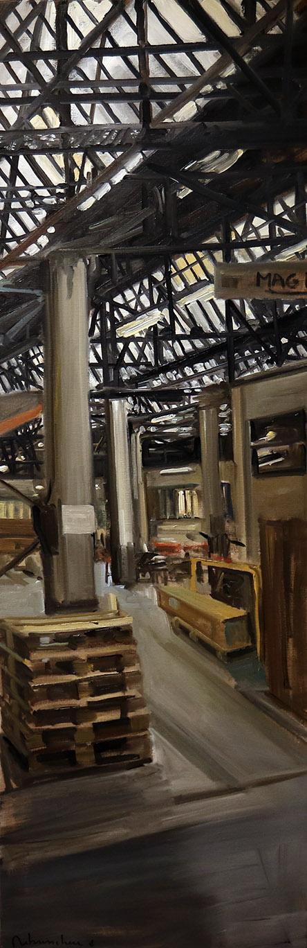 Christoff DEBUSSCHERE - 5 - Les palettes - 150X50 cm