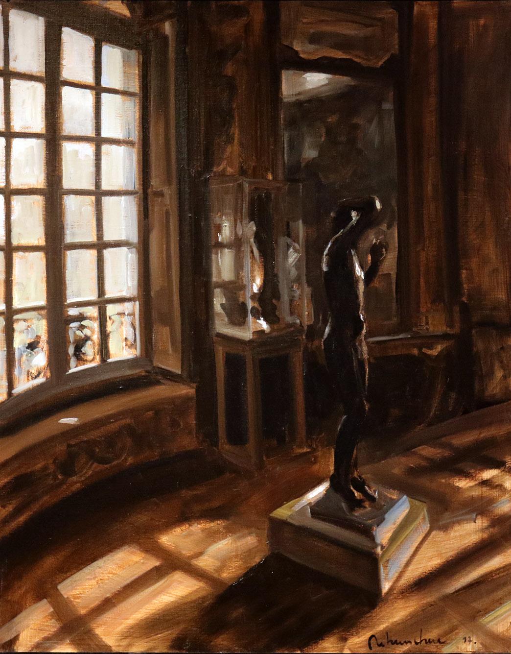 Christoff DEBUSSCHERE - 71 - Au Musée Rodin 1 - 30F (92X73 cm)