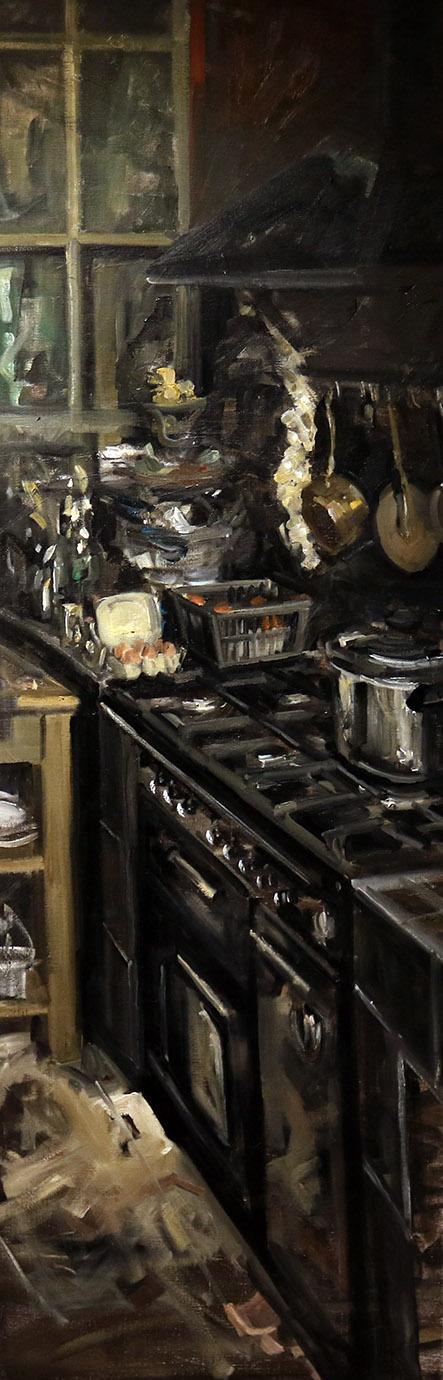 Christoff DEBUSSCHERE - 48 - Cuisine - Les fourneaux et les casseroles - 150X50 cm