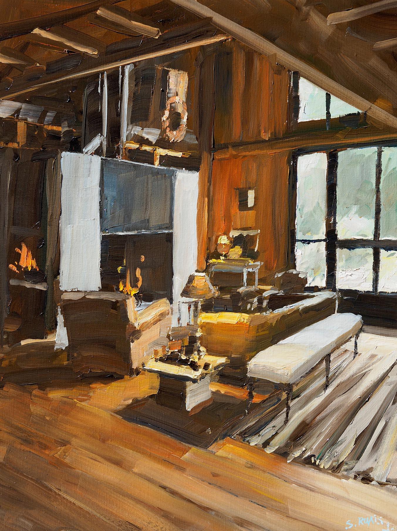 Stéphane RUAIS - n°11 Atelier 12P 61X46cm - Huile sur toile