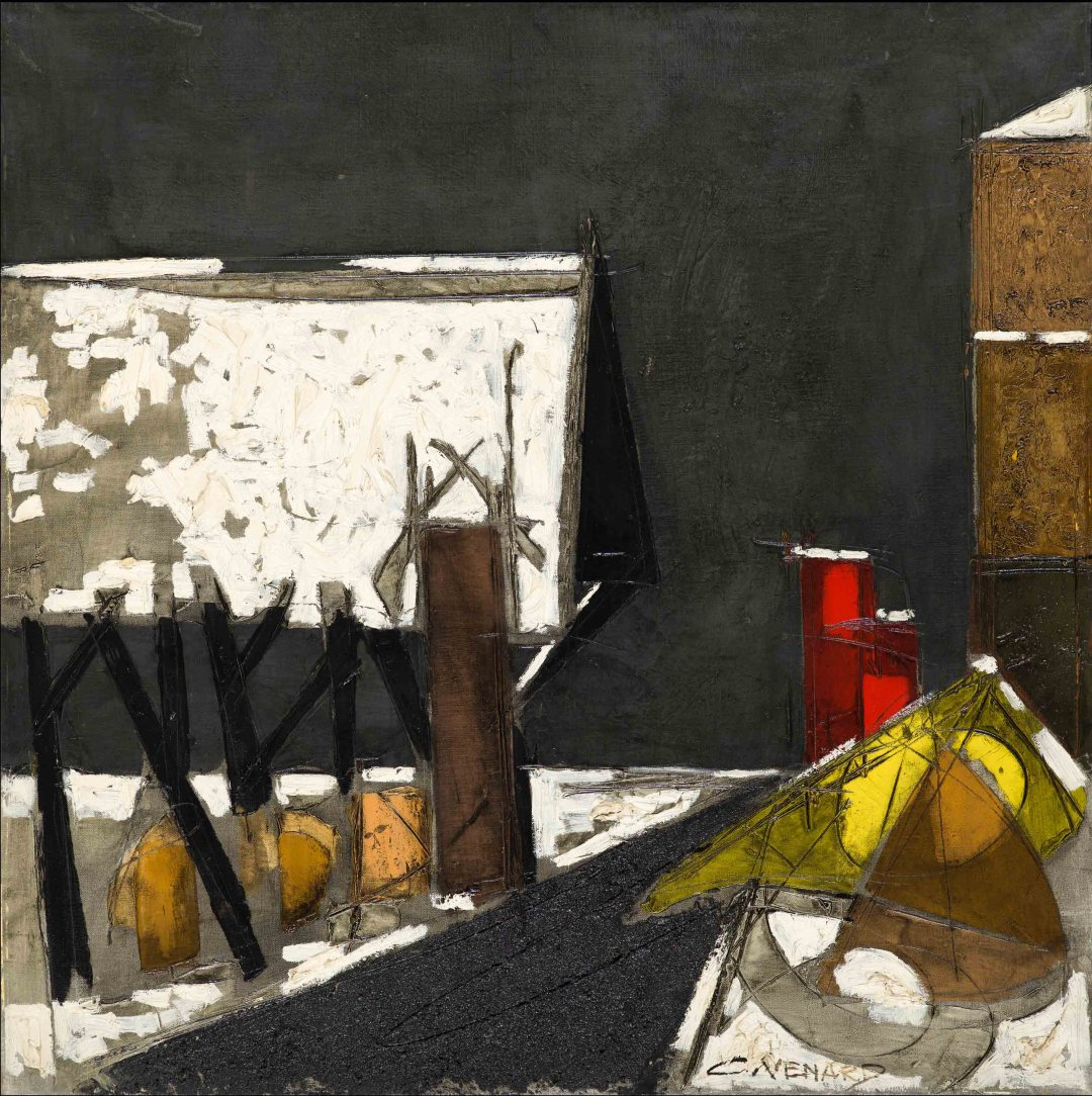 Claude VENARD | 100 x 100 cm