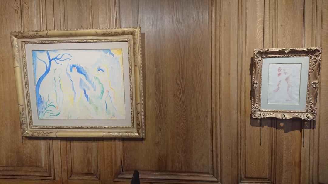 5. André DERAIN | 50,5 x 65,5 cm - Auguste RENOIR | 28,5 x 20 cm