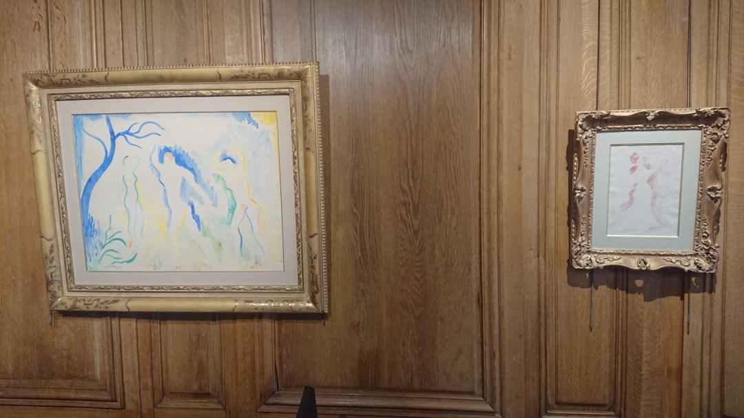 5. André DERAIN   50,5 x 65,5 cm - Auguste RENOIR   28,5 x 20 cm