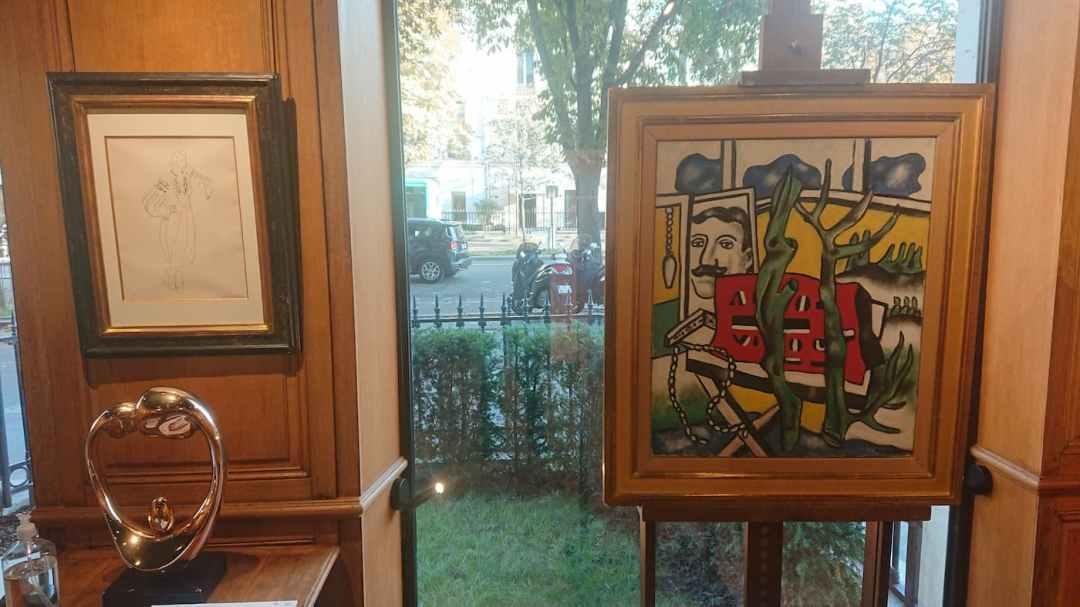 8. Henri MATISSE   38 x 28 cm - Fernand LEGER   65 x 54 cm