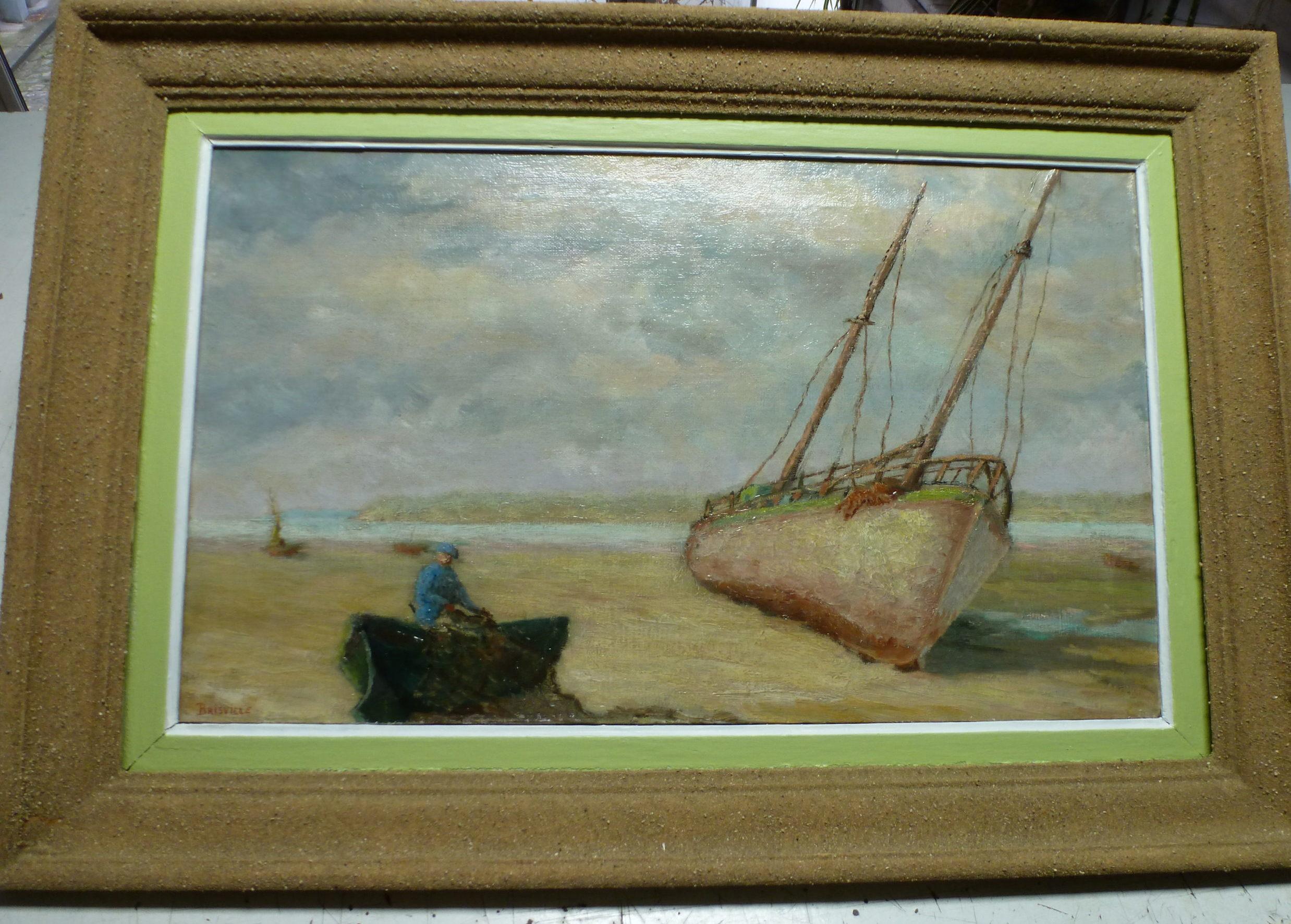 Brisville-bateau-sur-la-greve-en-baie-de-Somme