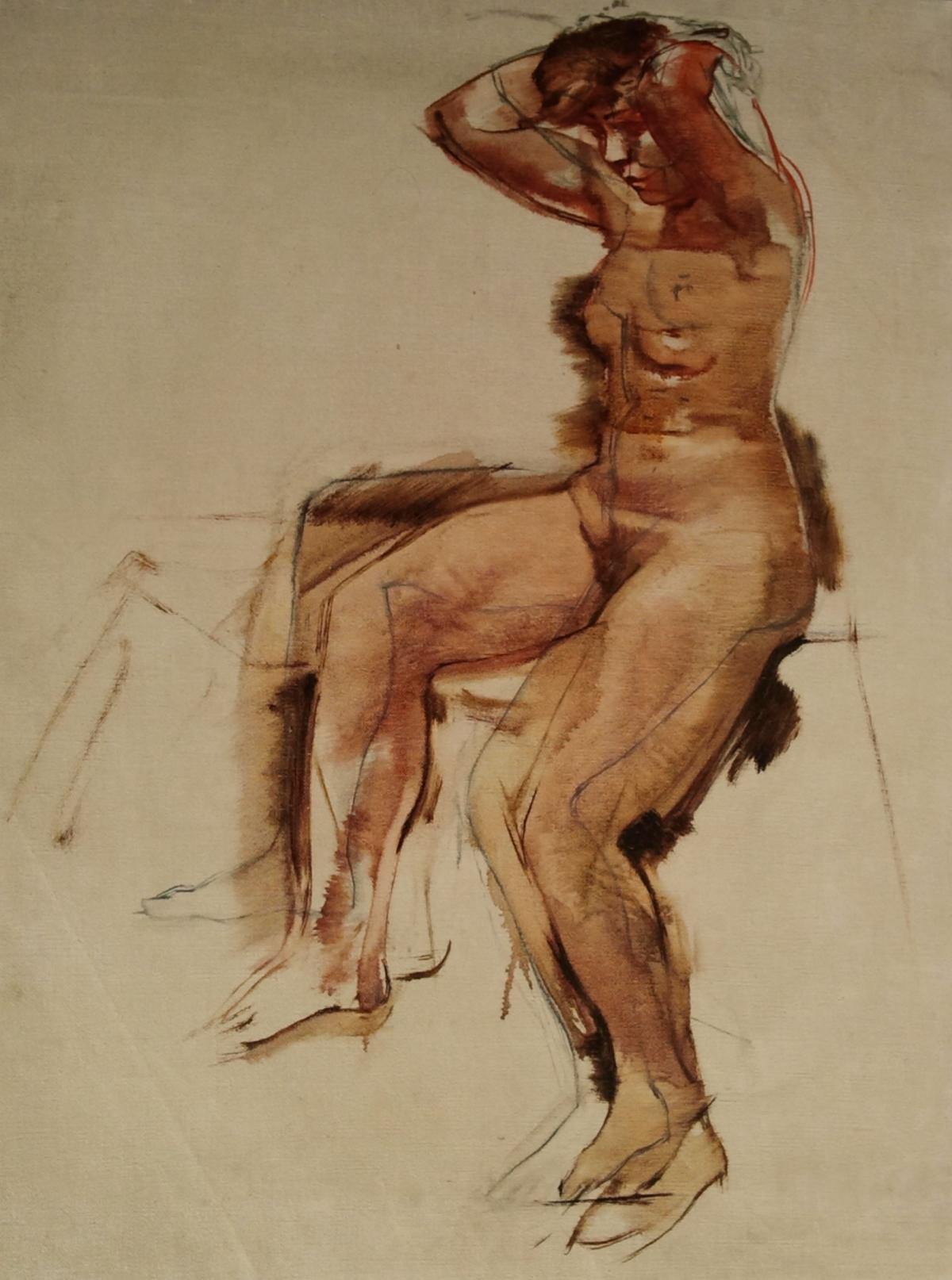 Modèles nus pour l'art