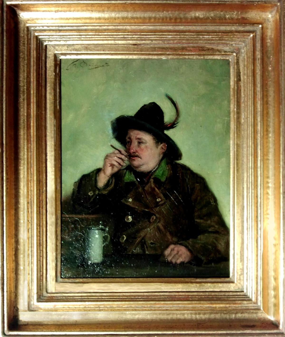 Le buveur de bière Munich 1884