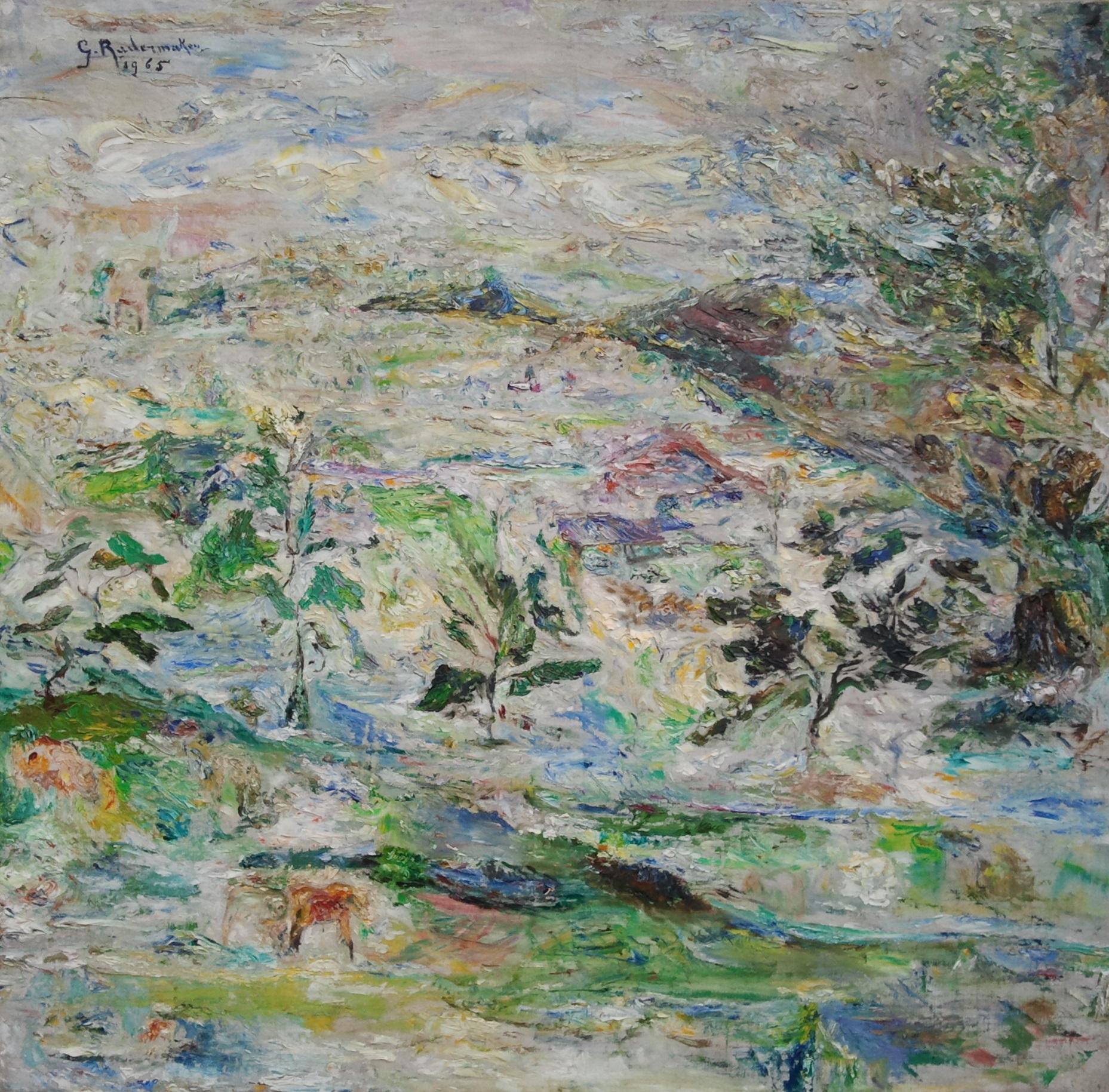 gilberte radermaker paysage asiatique