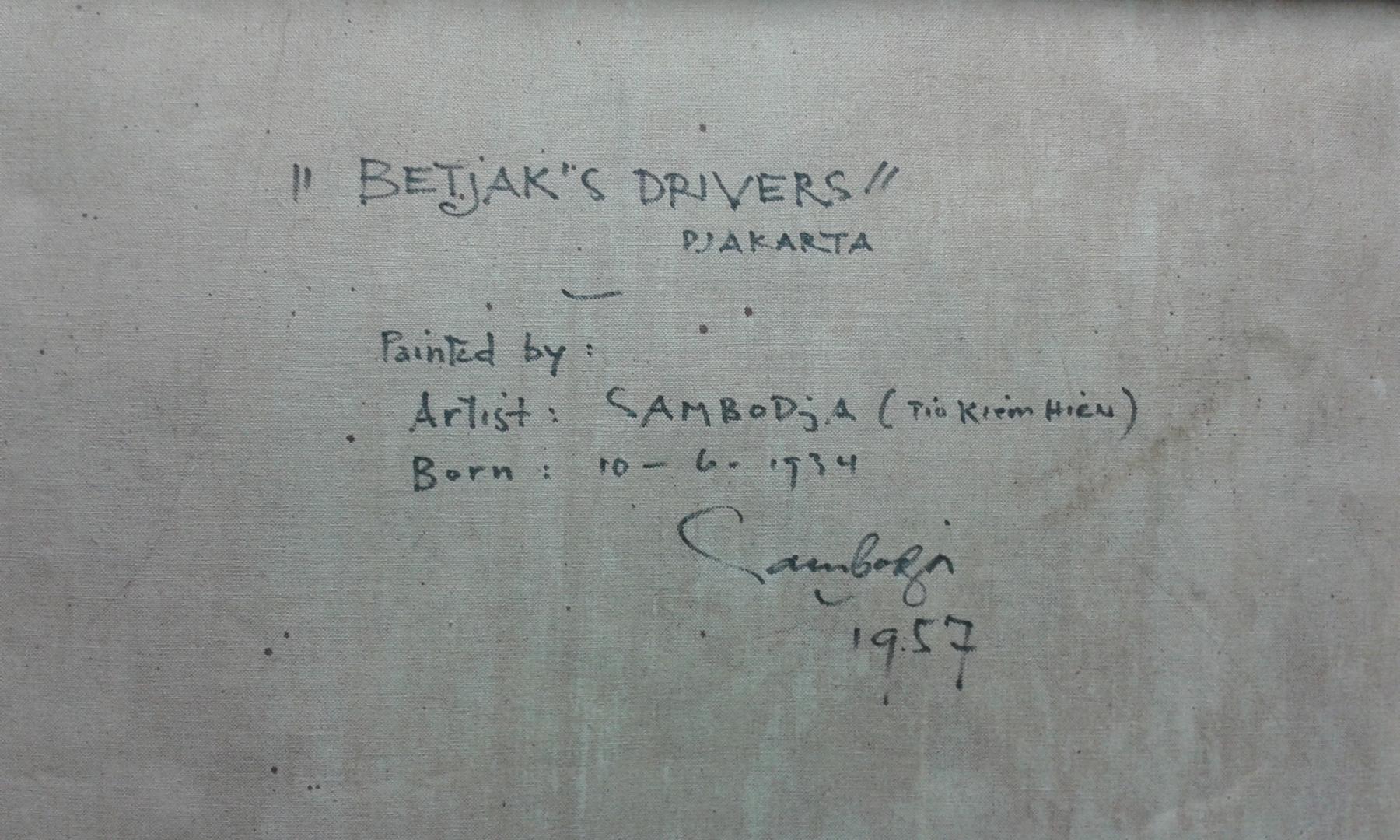 Sambodja Tio Kiem Hieu Betjaks drivers Djakarta verso details