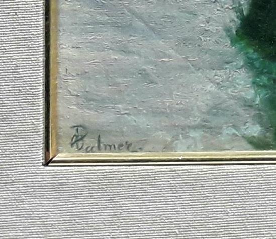 Palmer Otto les cygnes signature