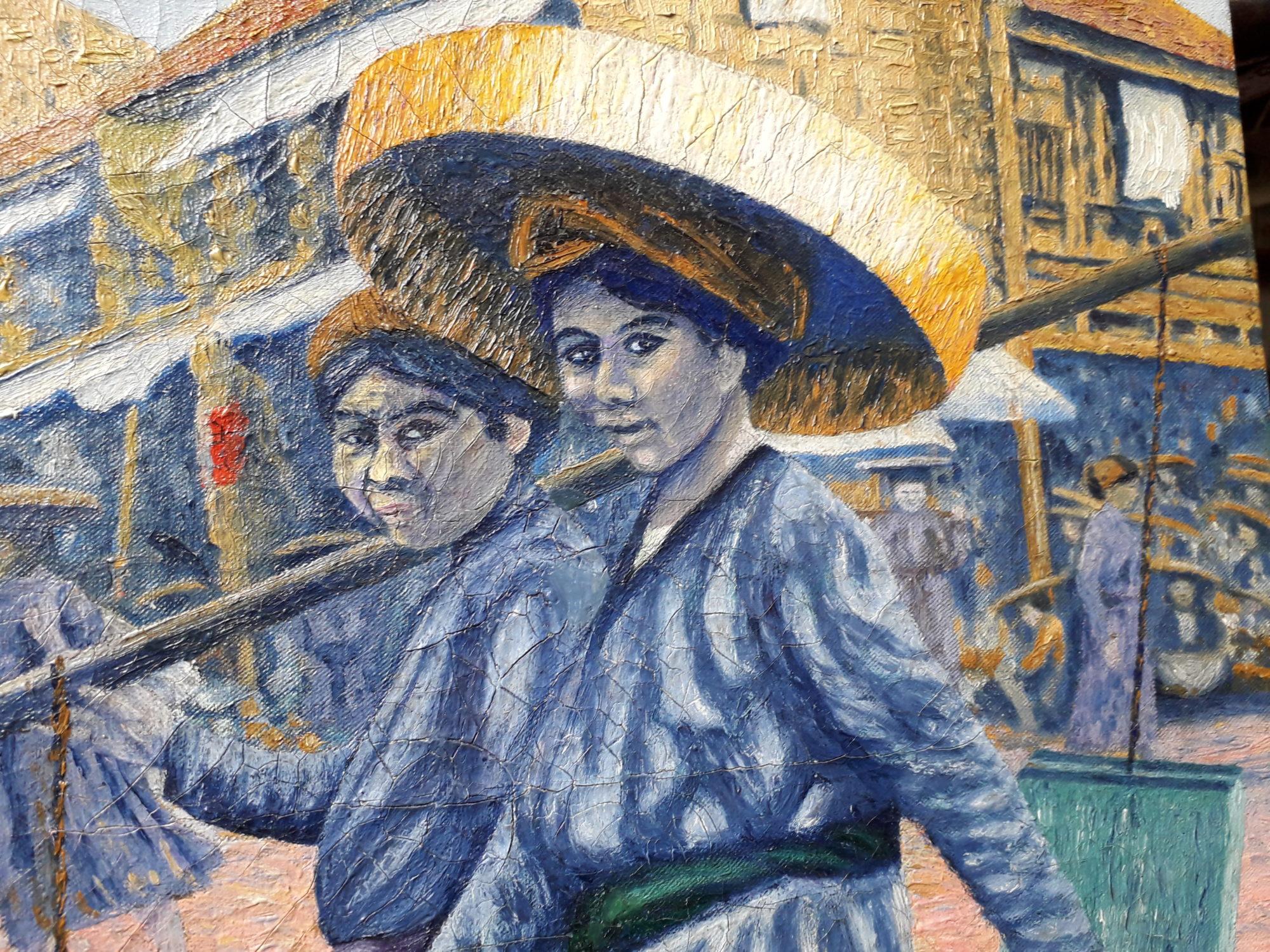 Les Tankas de Chine ou peuple Dan du Vietnam détail 2