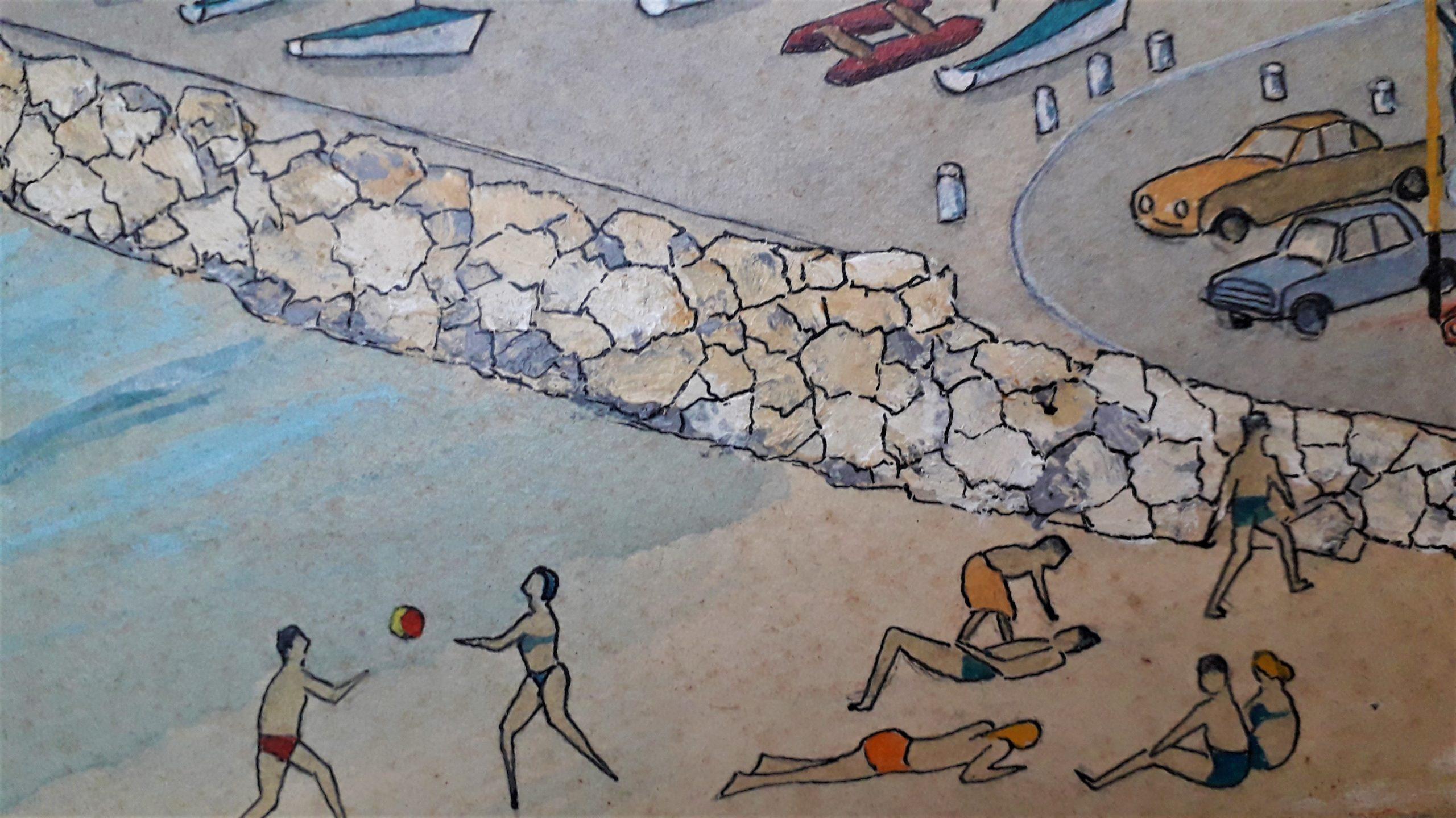 blondeau-eugene-louis-plage-et-port-de-plaisance-les-lecques-st-cyr-sur-mer-detail1