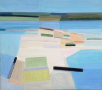 2017, Rasmussen, Skaroe rev II, 80x90 cm, huile sur toile