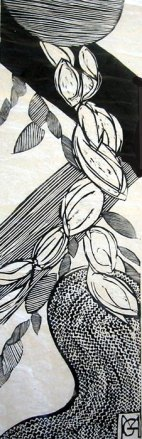 Granier, Kakemono, Gravure, Disponible à la réserve de la galerie