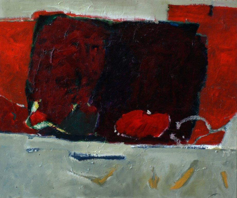 2006, Graff, Les hommes fourmis, 54x65 cm, acryl. sur toile, Disponible à la Réseve