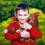 Portrait commandé: Little Mr D