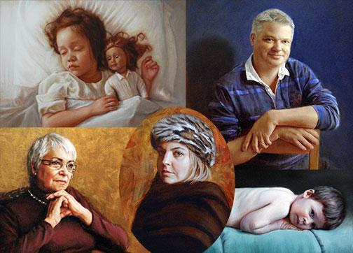 portrait sur commande galerie vanasse