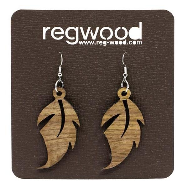 Leseni uhani list -regwood