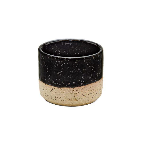Črna mini skodelica