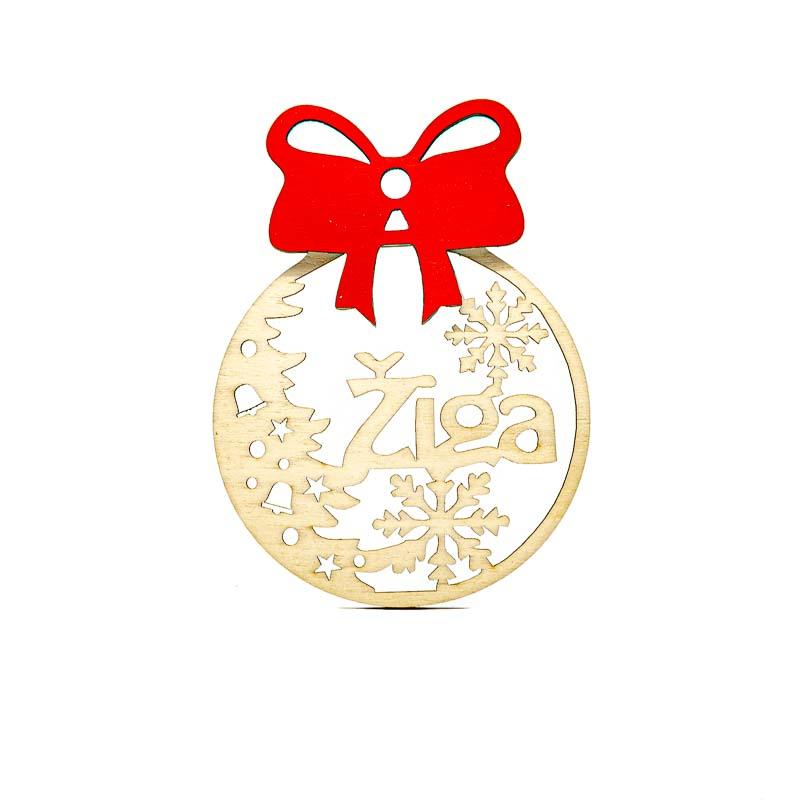 Leseni božični okrasek Žiga@galerijakreativnih.si-hedl